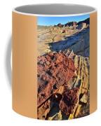 Burnt Orange Wave Of Sandstone In Valley Of Fire Coffee Mug