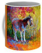 Burro And Bouganvillia Coffee Mug