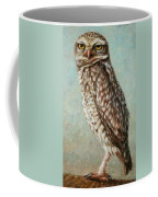 Burrowing Owl Coffee Mug by James W Johnson