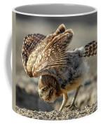 Burrowing Owlet Workout Coffee Mug