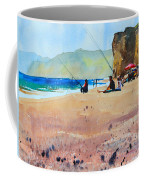 Burton Bradstock Beach Coffee Mug