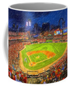 Busch Stadium At Night Rocks Coffee Mug