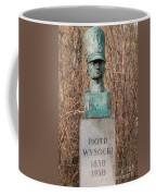 Bush Behind Piotr Wysocki Bust Coffee Mug