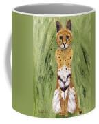 Bush Cat Coffee Mug