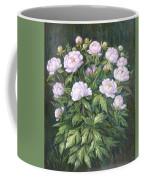 Bush Of Pink Peonies Coffee Mug