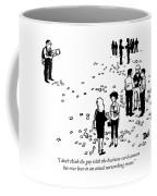 Business Card Cannon Coffee Mug