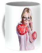 Businesswoman Training Coffee Mug by Jorgo Photography - Wall Art Gallery