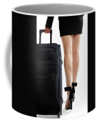 Businesswoman With A Trunk Coffee Mug