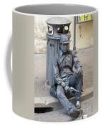Busker In Rome Coffee Mug