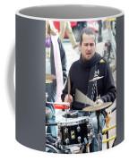 Busking Drummer Coffee Mug