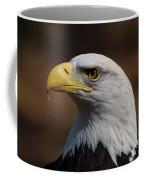 bust image of a Bald Eagle Coffee Mug