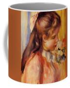 Bust Of A Young Girl Coffee Mug