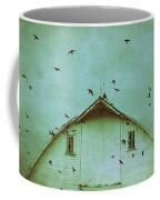 Busy Barn Coffee Mug by Julie Hamilton