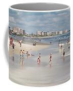 Busy Beach Day Coffee Mug