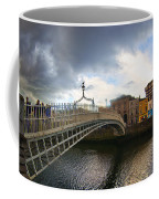 Busy Ha'penny Bridge 4 Coffee Mug