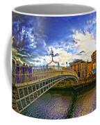 Busy Ha'penny Bridge 4 V2 Coffee Mug