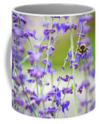 Busy In Lavender 3 Coffee Mug