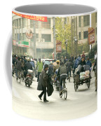 Busy Street, Shanghai Coffee Mug