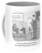 But Seriously Folks Coffee Mug