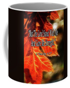 But The Lord Stood With Me Coffee Mug