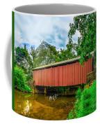 Butchers Mill Covered Bridge Coffee Mug
