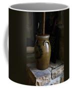 Butter Churn On Hearth Still Life Coffee Mug