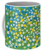 Buttercups And Daisies Coffee Mug
