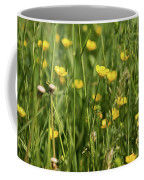 Buttercups And Green Grass At Moore State Park Coffee Mug