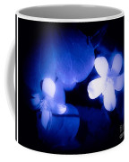 Buttercups In White Blue And Black Coffee Mug