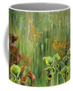 Butterflies In The Bog Coffee Mug