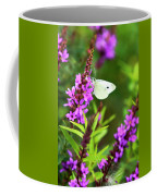 Butterfly And Bouquet Coffee Mug