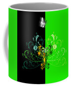 Butterfly And Ornament Coffee Mug