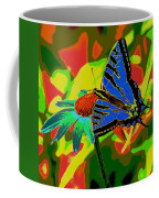 Butterfly Blues Coffee Mug