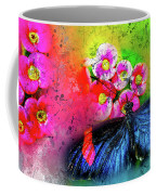 Butterfly Color Explosion Coffee Mug