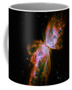Butterfly Emerges From Stellar Demise Coffee Mug