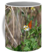 Butterfly Flower Coffee Mug
