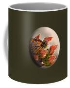 Butterfly In A Globe Coffee Mug