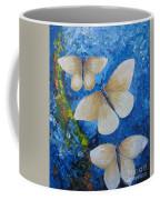 Butterfly In Blue 4 Coffee Mug