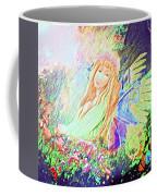 Butterfly In The Garden Coffee Mug