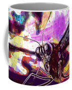 Butterfly Insect Eyes Probe  Coffee Mug