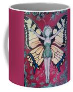 Butterfly Lady Coffee Mug