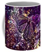 Butterfly Monarch Flower  Coffee Mug