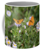 Butterfly On Fleabane #2 Coffee Mug