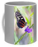 Butterfly Side Profile Coffee Mug by Garvin Hunter