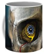 Butterfly Skull Coffee Mug