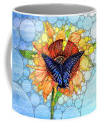 Butterfly Sunday After The Rain Coffee Mug