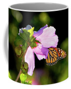 Butterfly Sunset Coffee Mug by Betty LaRue