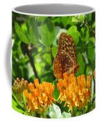 Butterfly Weed Fritillary Coffee Mug