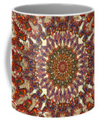 Butterfly Wheel Grey Coffee Mug