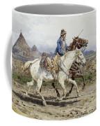 Buttero Riding In The Roman Campagna Coffee Mug
